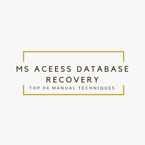 Repair MS Access