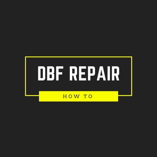 fix dbf file
