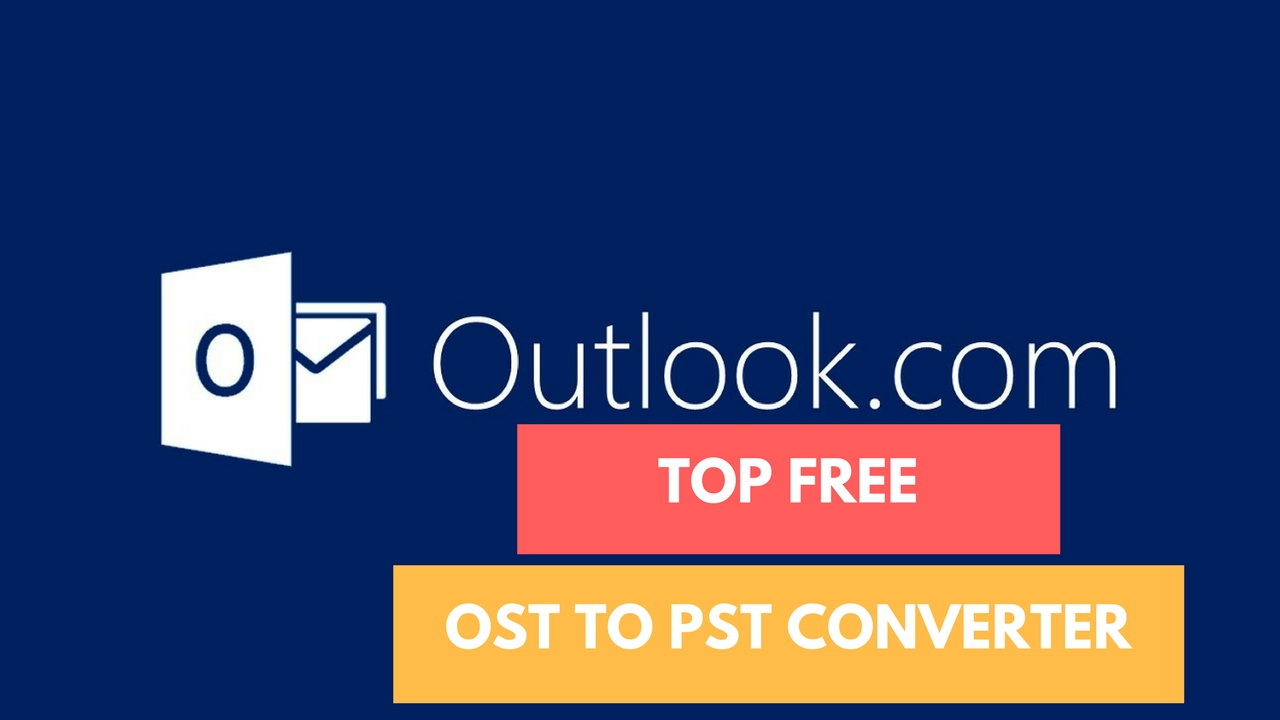 best free OST to PST converter