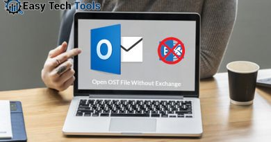 open ost file without exchange server