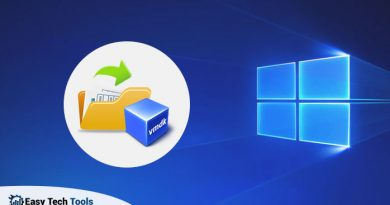 How To open VMDK Files in Windows 10