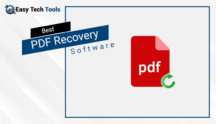 Best PDF Recovery Software