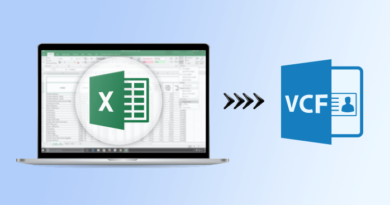 convert Excel to VCF