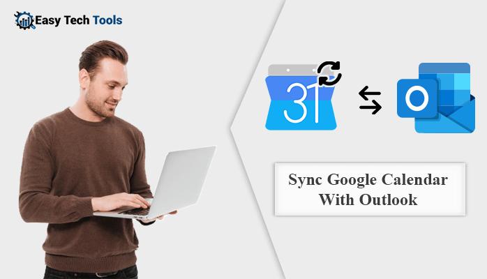 sync google calendar with outlook 2019