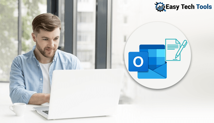 insert/create email signature in outlook