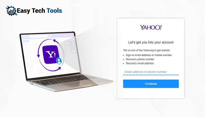 yahoo account recovery without phone number