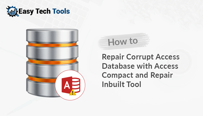 how to compact and repair database in access