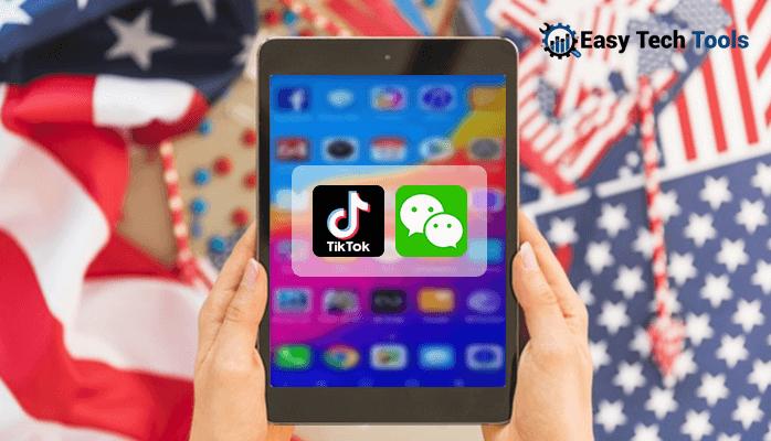 Tiktok-WeChat Ban in USA
