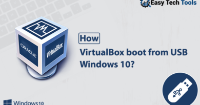 virtualbox boot from windows 10