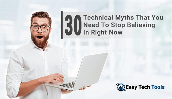 technical myths