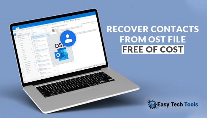 Recover/Extract contacts from OST file
