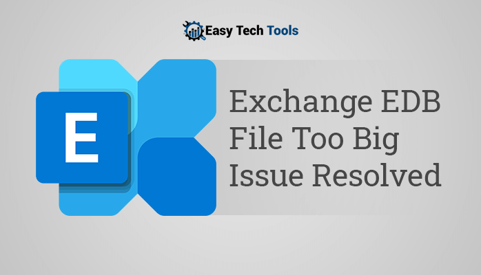 exchange 2010 edb file too big