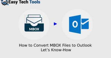 how to convert MBOX files to Outlook