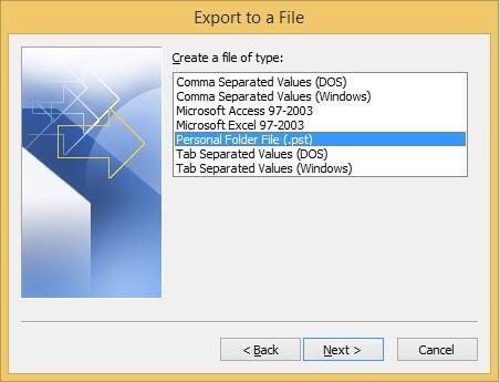 personal file folder